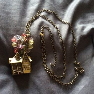 NWOT Up House Necklace 🎈